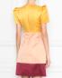 Платье из атласа с отделкой пайетками Elisabetta Franchi  –  МодельВерхНиз1