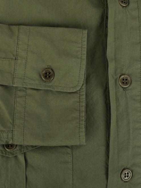 Рубашка из плотного хлопка - Деталь1