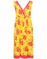 Платье из шелка с цветочным узором P.A.R.O.S.H.  –  Общий вид