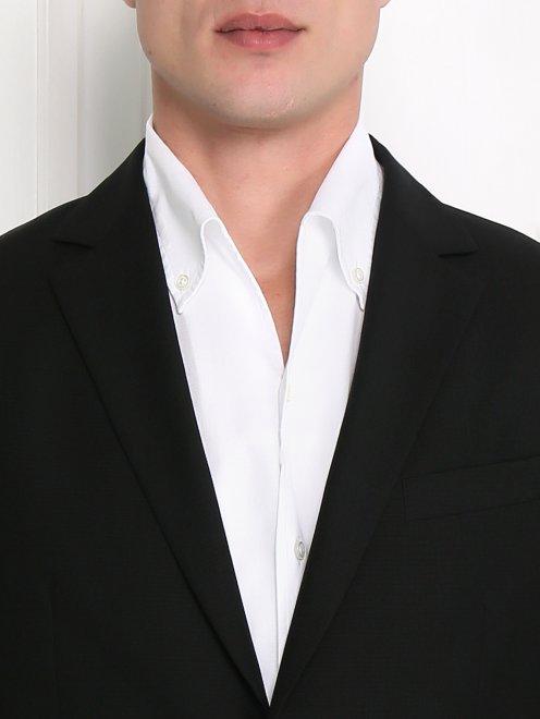 Пиджак однобортный из тонкой шерсти - Модель Общий вид1