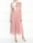 Платье-миди с контрастным поясом Max Mara  –  МодельОбщийВид