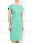 Платье-миди  свободного фасона из  хлопка Jil Sander  –  Модель Верх-Низ