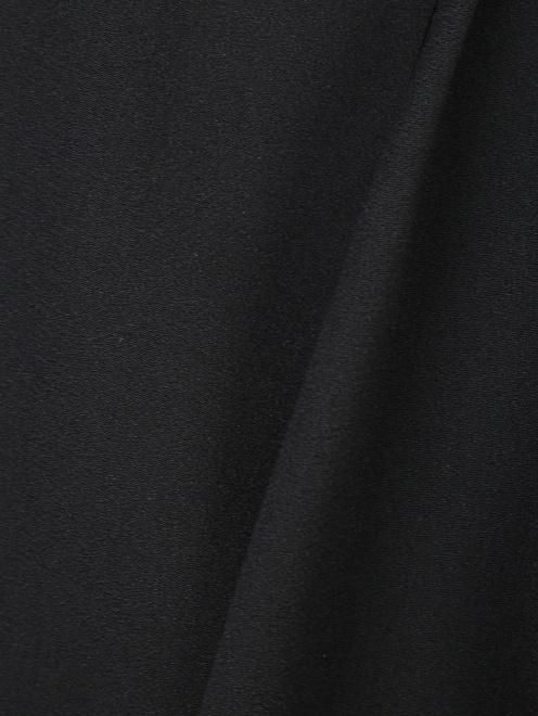 Юбка миди с декоративной деталью на талии - Деталь1
