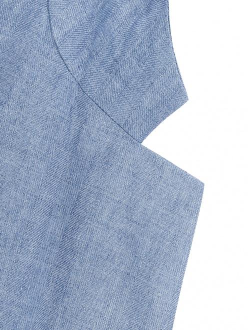 Пиджак из льна - Деталь1