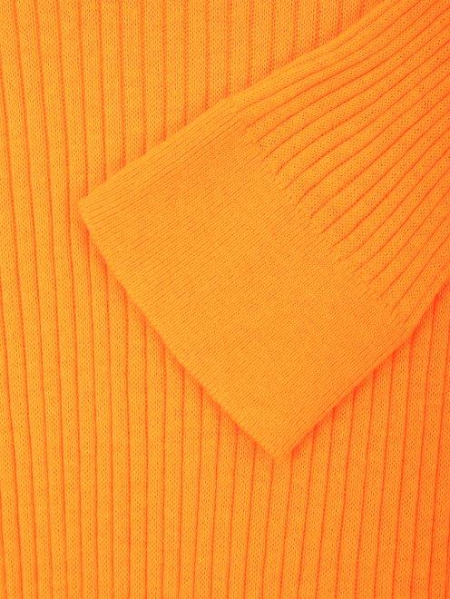 Джемпер из хлопка и шелка мелкой вязки - Общий вид