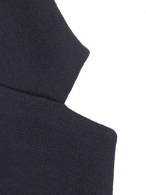 Пиджак трикотажный - Деталь1