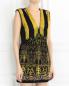 Платье-мини из фактурной ткани с вышивкой и аппликацией Barbara Bui  –  Модель Верх-Низ