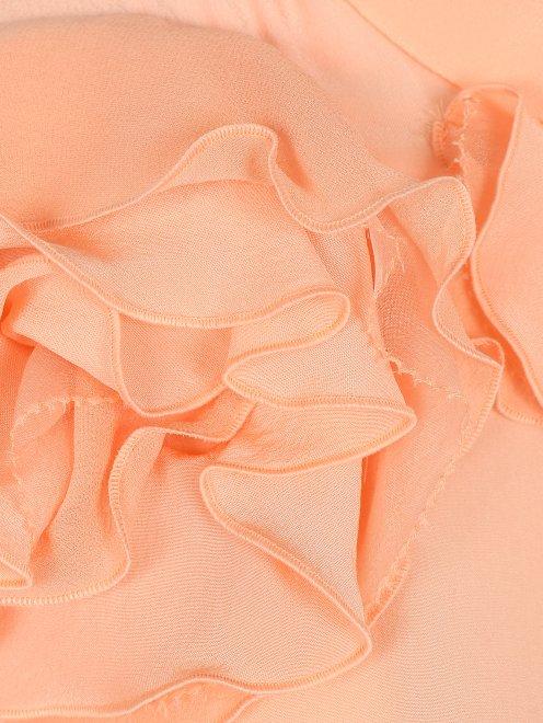 Блуза из шелка с декором - Деталь1