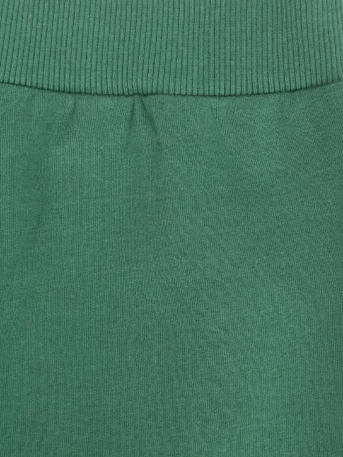 Спортивные брюки из хлопка с боковыми карманами - Деталь1