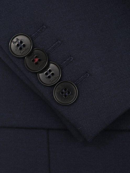 Пиджак трикотажный - Деталь