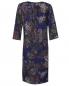 Платье из шерсти с узором пейсли Natalia Picariello  –  Общий вид