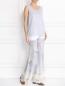 Широкие брюки с узором Gaultier2  –  Модель Общий вид