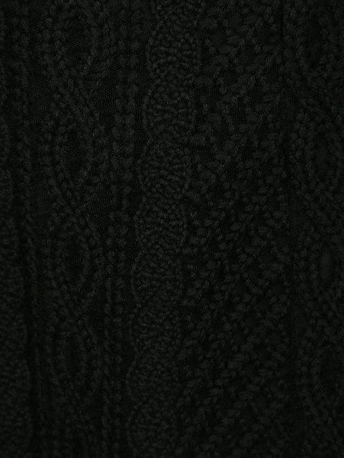 Кружевная юбка из шерсти - Деталь
