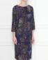 Платье из шерсти с узором пейсли Natalia Picariello  –  МодельВерхНиз