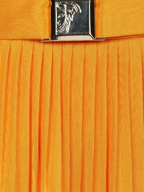 Плиссированная юбка-макси - Деталь