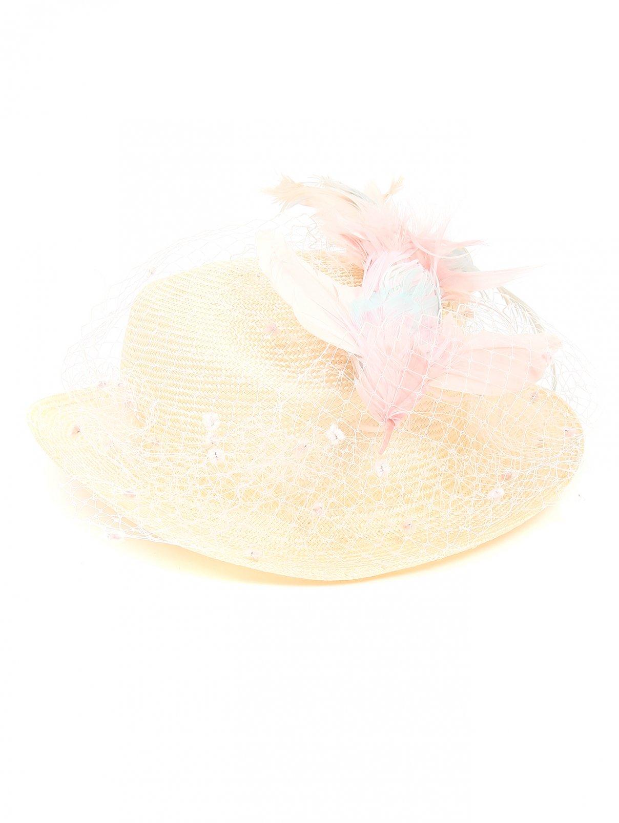 Шляпа с декоративной отделкой Federica Moretti  –  Общий вид