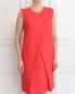 Платье прямого кроя без рукавов Giambattista Valli  –  Модель Верх-Низ