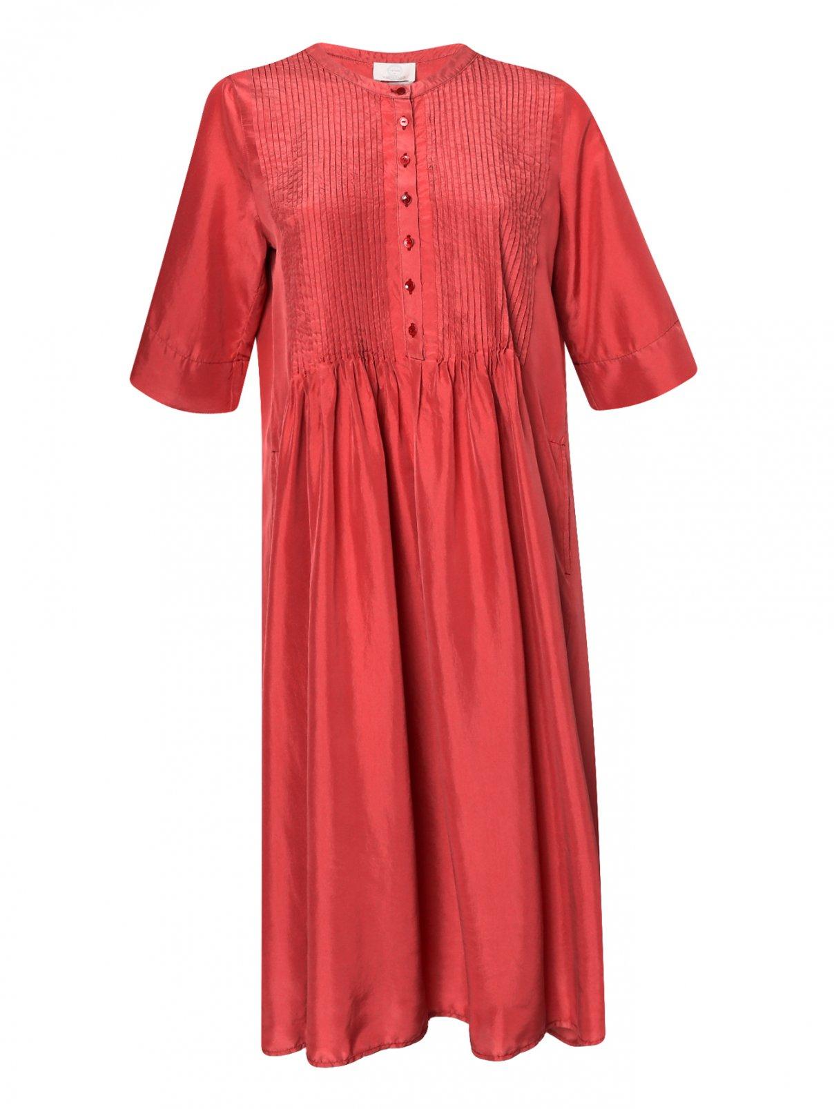 Платье из шелка свободного кроя Marina Rinaldi  –  Общий вид