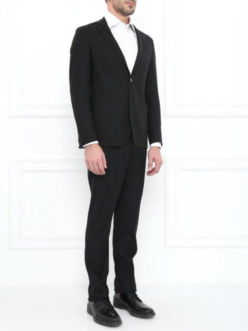 Пиджак из тонкой шерсти - Модель Общий вид