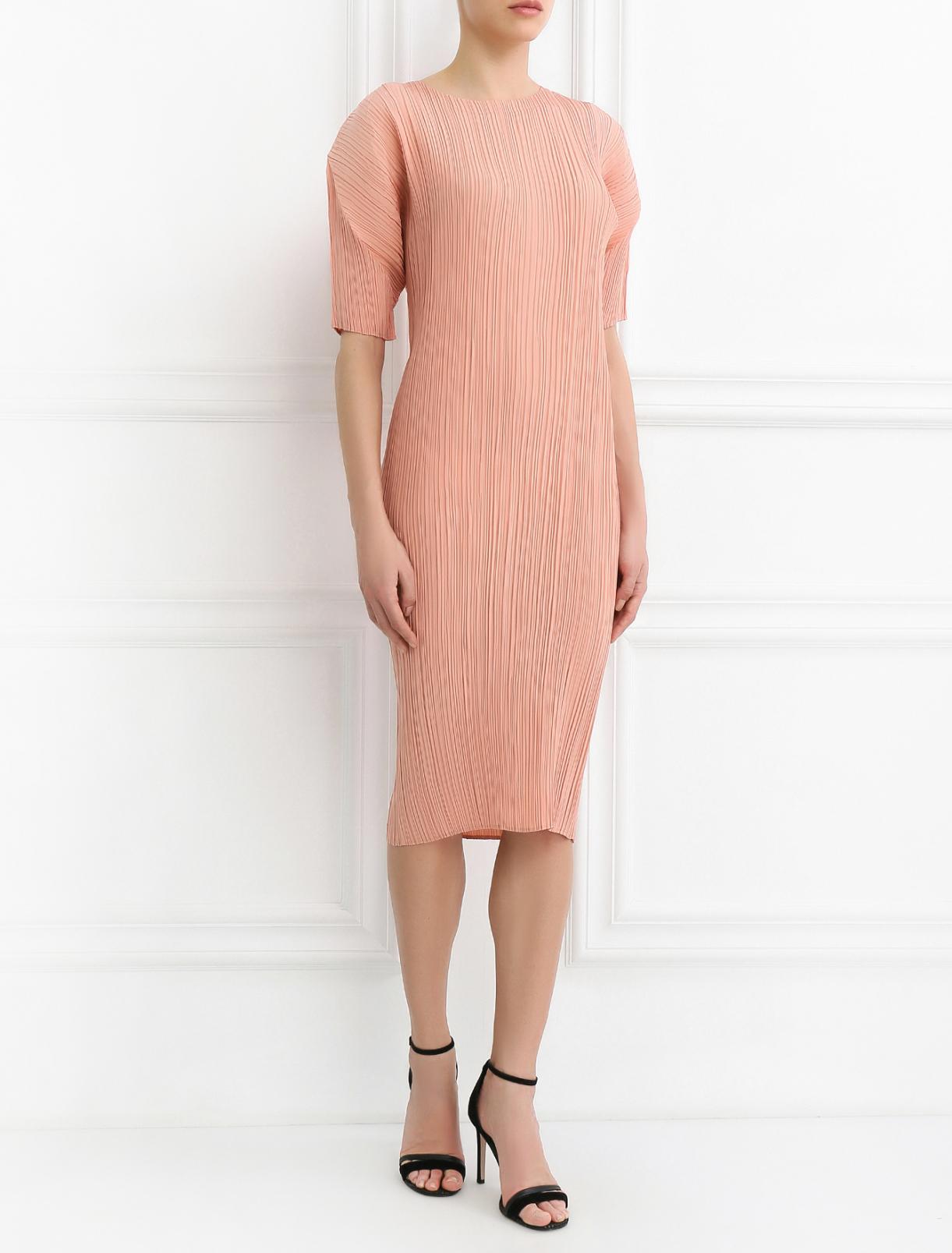 Платье из шелка свободного кроя Jil Sander  –  Модель Общий вид