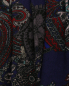 Платье из шерсти с узором пейсли Natalia Picariello  –  Деталь