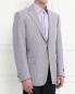 Пиджак из шерсти с узором Corneliani  –  Модель Верх-Низ