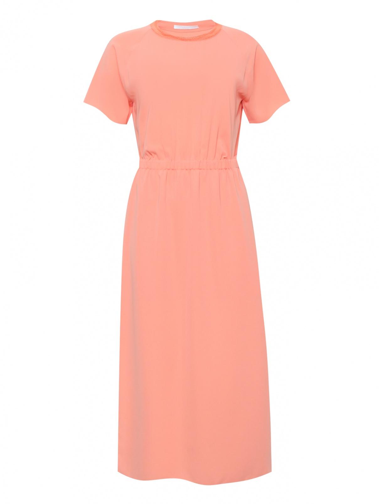 Платье-миди с короткими рукавами Hugo Boss  –  Общий вид