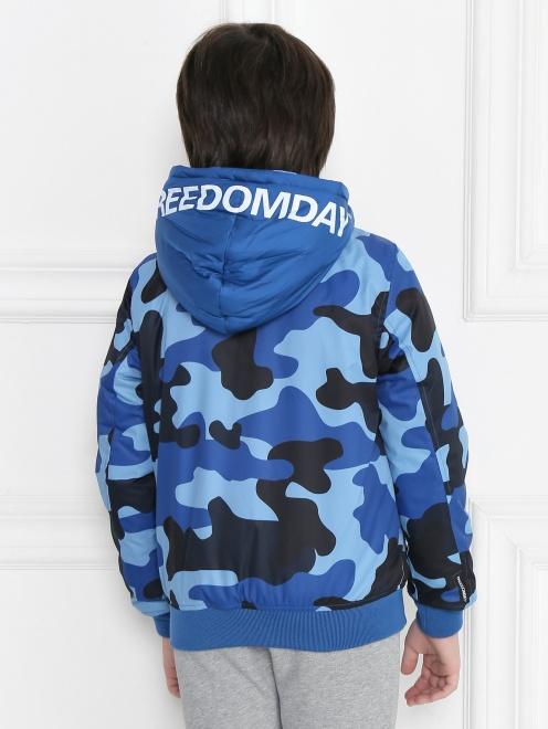 Куртка двухсторонняя с капюшоном - МодельВерхНиз1