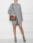 Платье трикотажное из кашемира Theory  –  МодельОбщийВид