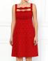 Платье из шерсти и шелка Moschino  –  Модель Верх-Низ