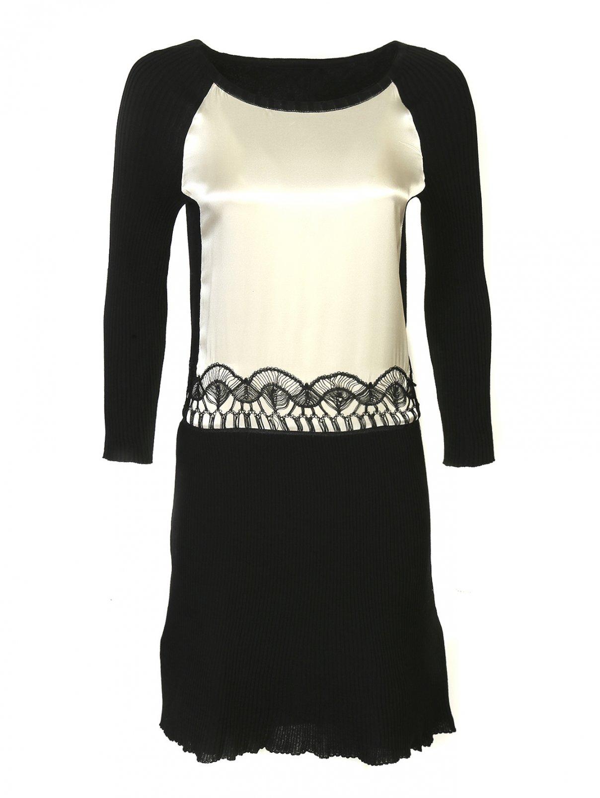 Платье-миди из хлопка Alberta Ferretti  –  Общий вид