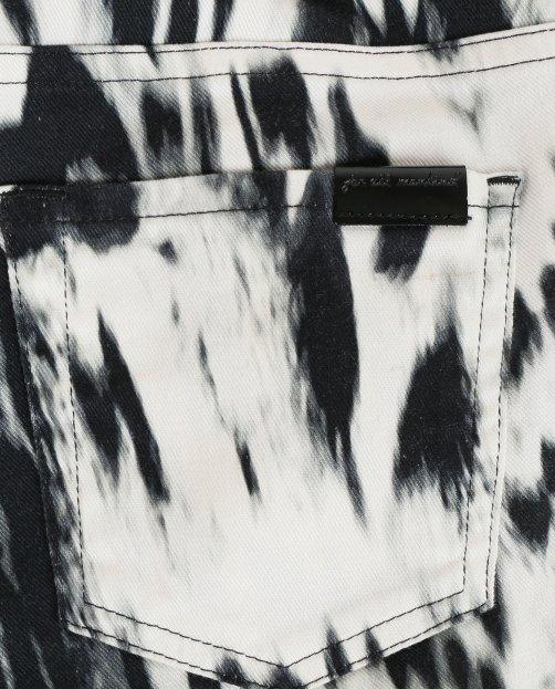 Брюки из хлопка с узором - Общий вид