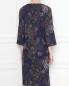 Платье из шерсти с узором пейсли Natalia Picariello  –  МодельВерхНиз1