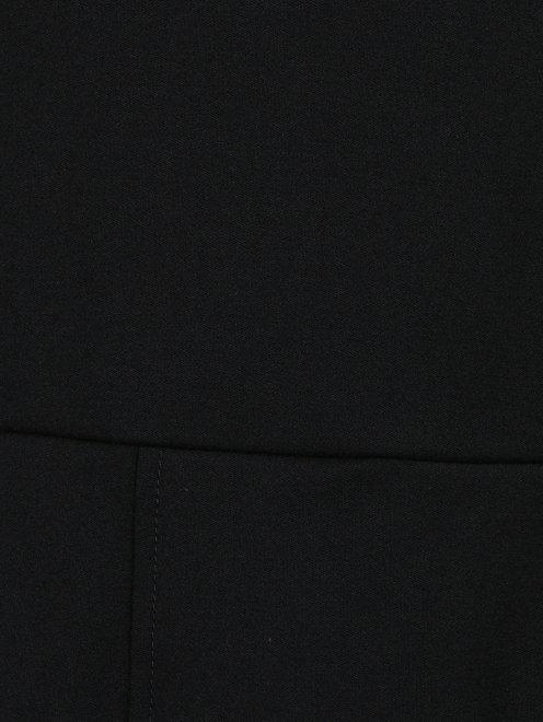 Платье-мини из шерсти с декоративной молнией  - Деталь1