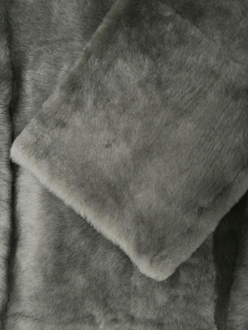 Дубленка из овчины удлиненная  - Деталь1