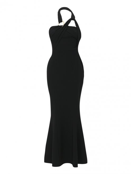 Платье-футляр на бретелях - Общий вид