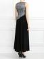 Платье-макси без рукавов Mariella Burani  –  Модель Верх-Низ1