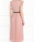 Платье-миди с контрастным поясом Max Mara  –  МодельВерхНиз1