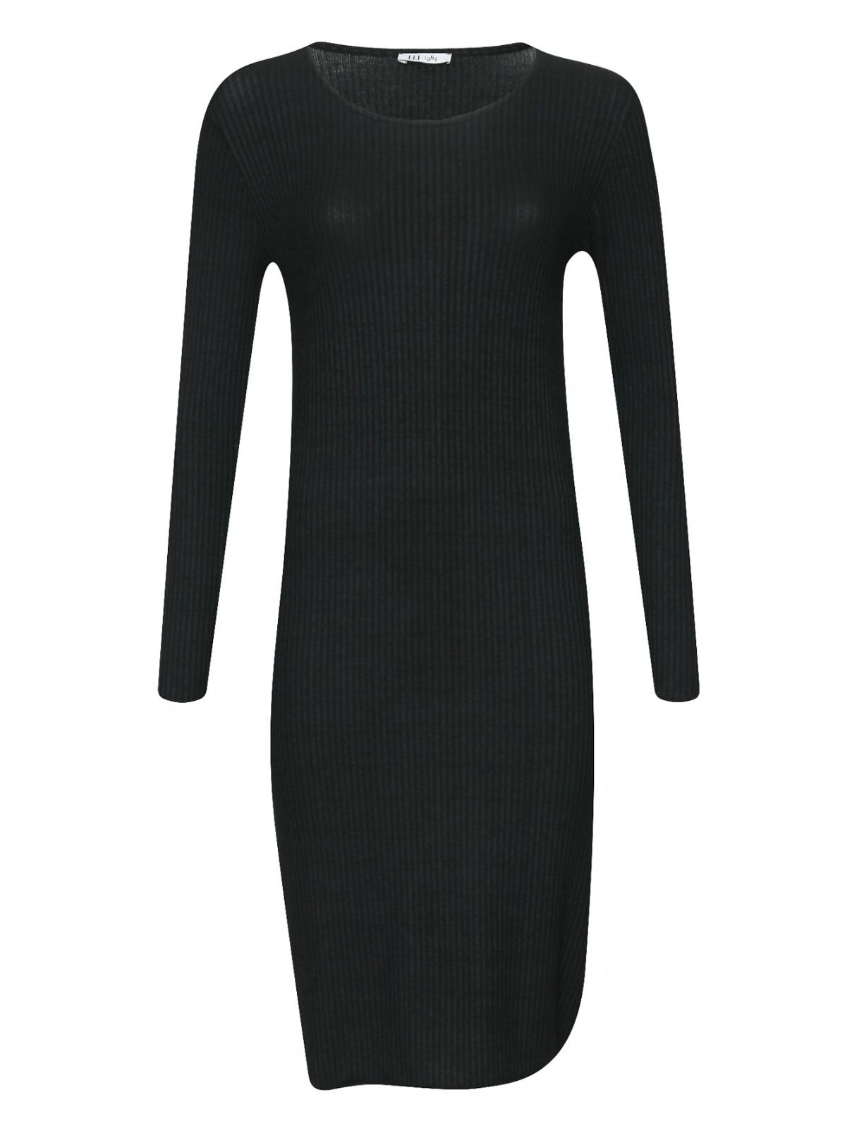 Трикотажное платье-миди в рубчик Lei 1984  –  Общий вид