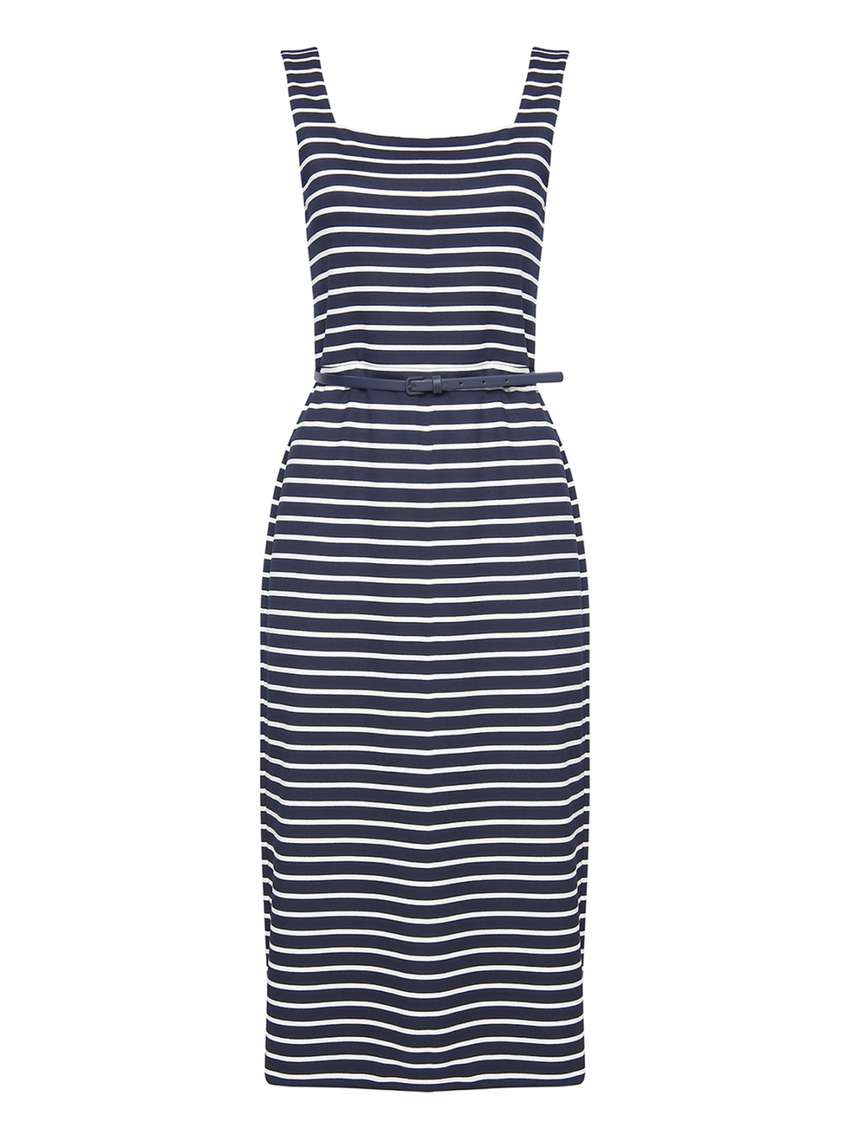 Платье трикотажное в полоску Max Mara  –  Общий вид