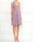 Платье из хлопка без рукавов Moschino Cheap&Chic  –  Модель Общий вид