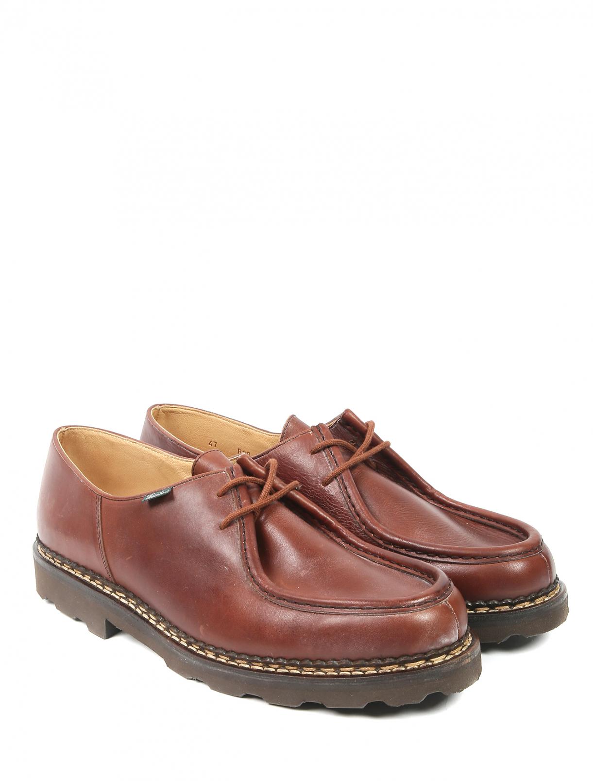 Ботинки из кожи Paraboot  –  Общий вид