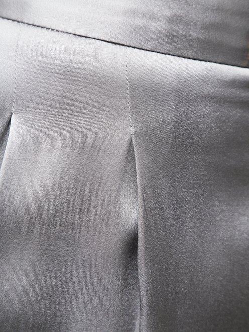 Классические брюки из шелка - Деталь