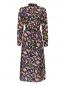 Платье из шелка, с геометричным узором Essentiel Antwerp  –  Общий вид