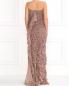 Платье-макси из шелка с объемными драпировками Alberta Ferretti  –  Модель Верх-Низ1