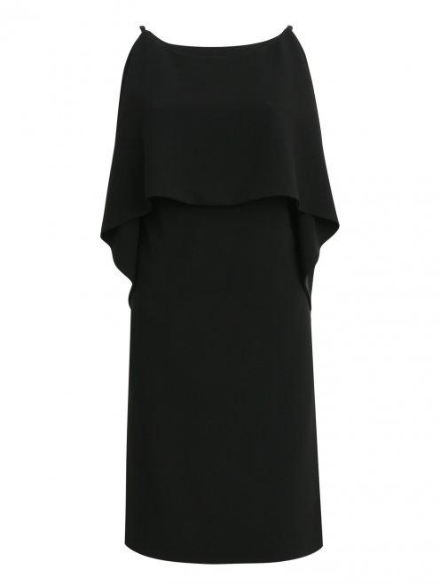 Платье-мини на бретелях - Общий вид
