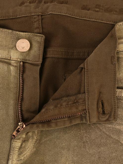 Узкие джинсы - Деталь