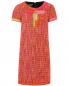 Платье-мини с аппликацией и фурнитурой Moschino Boutique  –  Общий вид