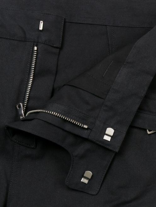 Шорты из протного хлопка с накладными карманами - Деталь1