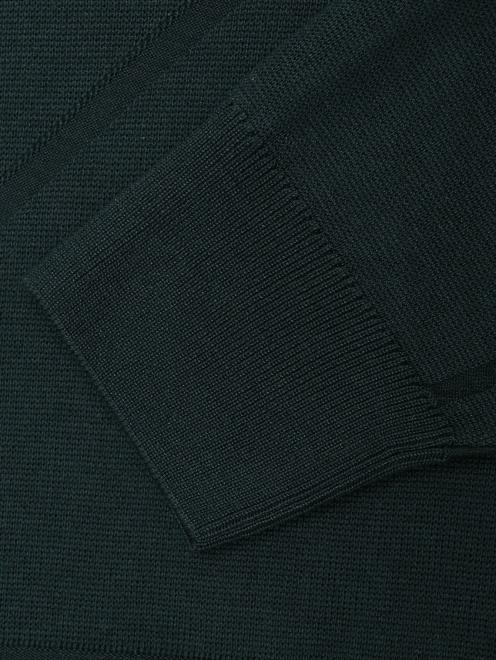 Джемпер из шелка с круглым вырезом - Деталь1